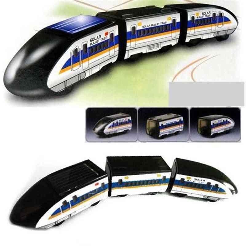 Solar Powered Train Kits 1:100 Educational Solar Power Kits Novelty Toy