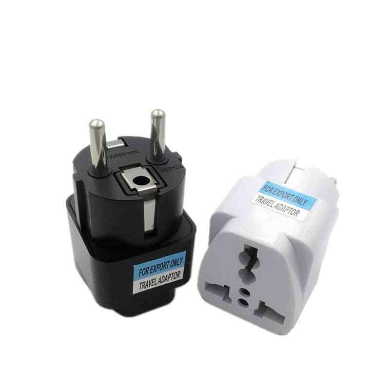 1pcs Universal Eu Plug Adapter International Travel Adapter Converter Socket