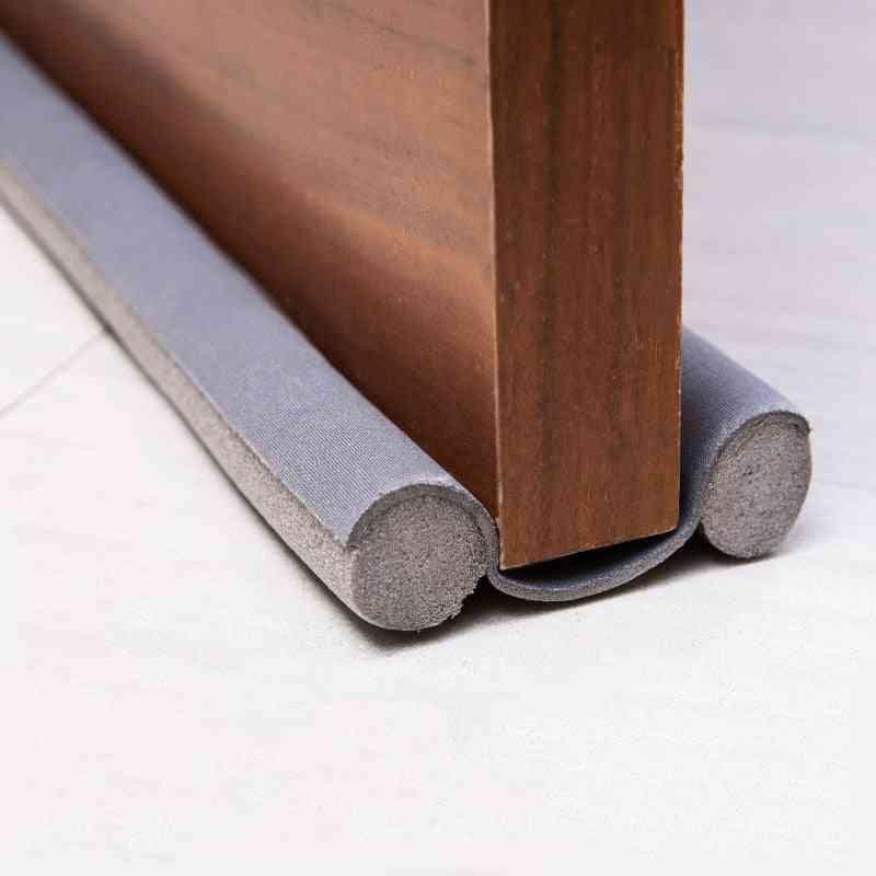 Flexible Door Bottom Sealing Strip Windproof Dust Stopper Guard Rain Noise Reduction Insulator Weather Strip