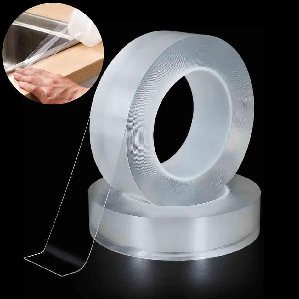 Kitchen Sink Waterproof Mildew Strong Adhesive Tape Bathroom Toilet Crevice Strip Transparent Self-adhesive