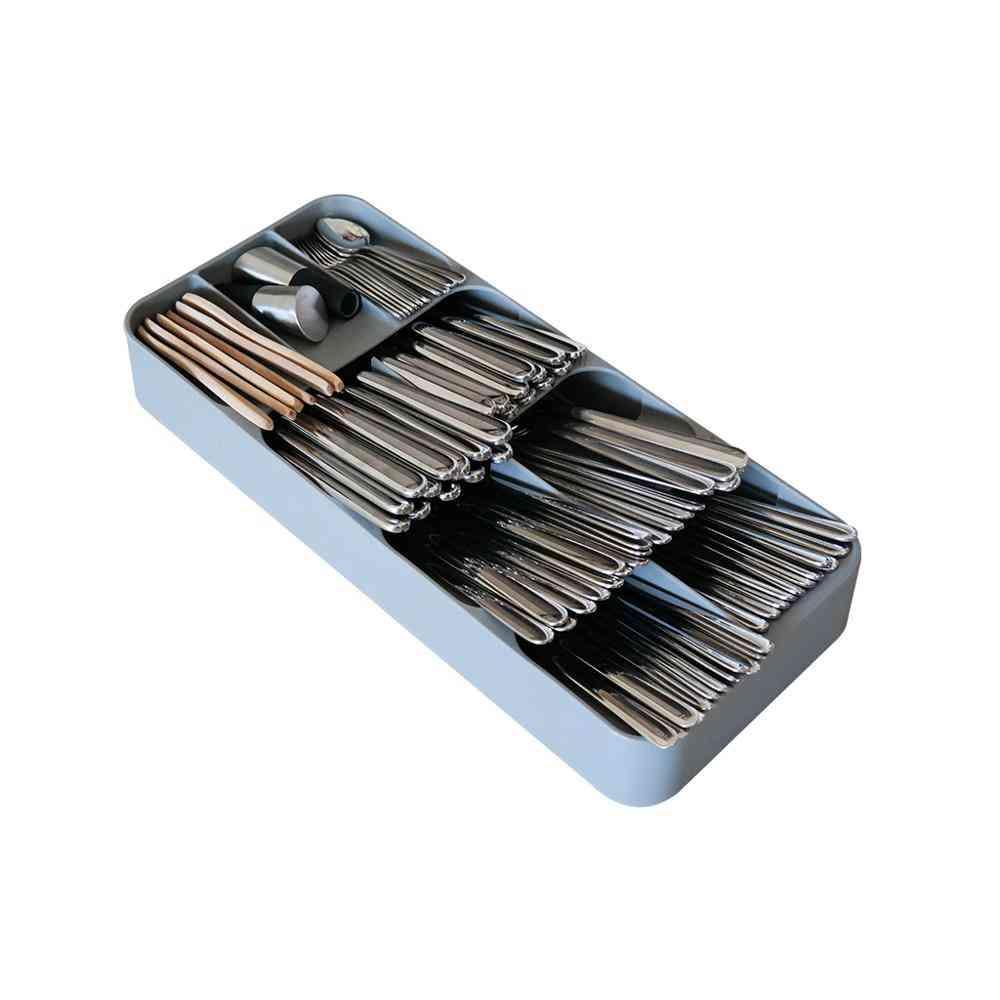 Plastic Knives Forks Spoons Storage Rack
