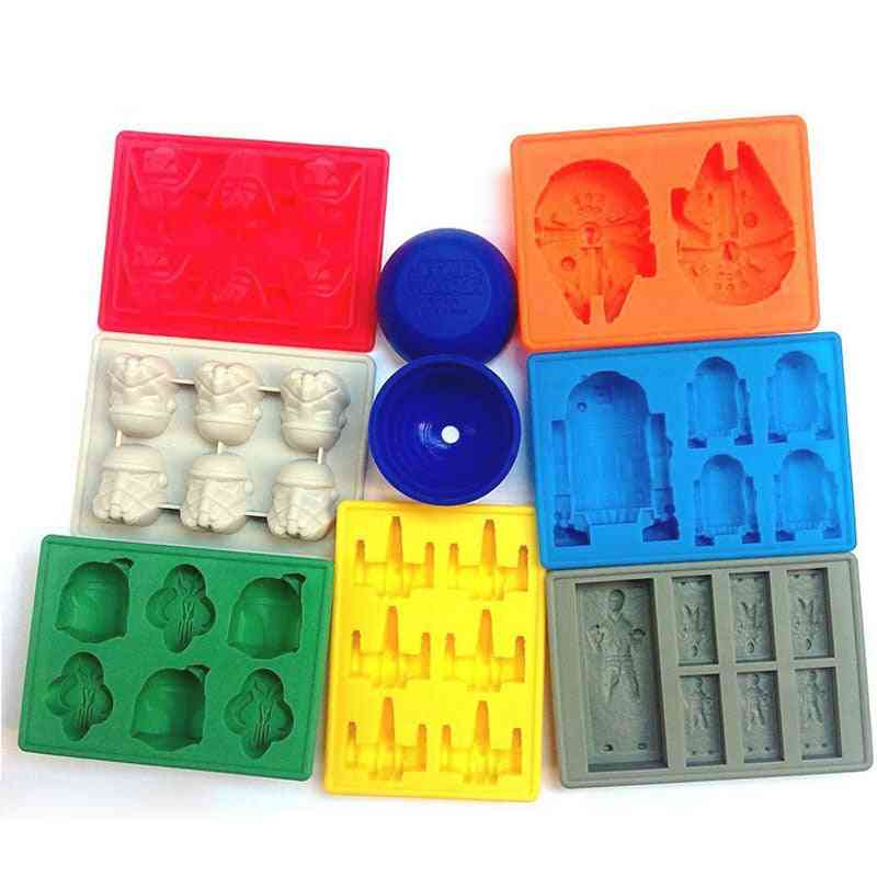 Star Wars Silicone Ice Cube Tray Chocolate Mould
