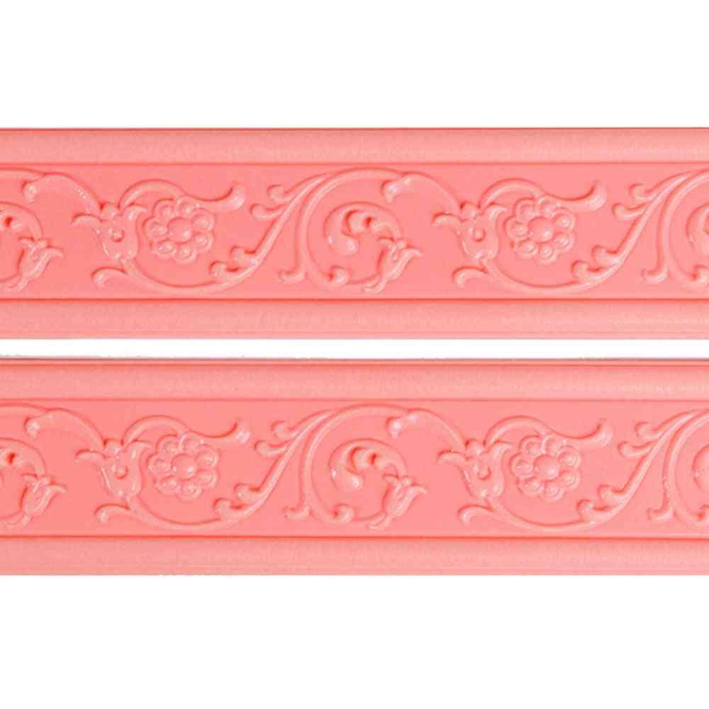 3d Stereo Baseboard Wall Waterproof Wallpaper Self Adhesive Wall Sticker