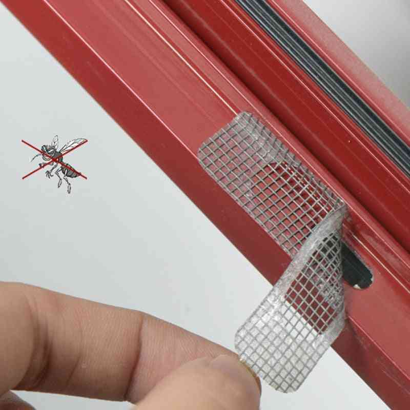 Anti-mosquito Window Net Mesh Sticky Wires Patch Repair Tape (5pcs)