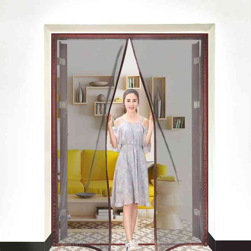 Magnetic Screen Door Curtain Anti-mosquito Net Fly Insect Screen Mesh