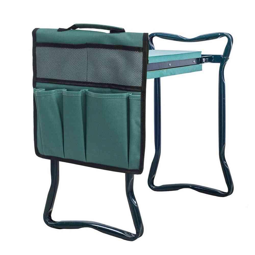 Portable Garden Kneeler Garden Tool Storage Bag