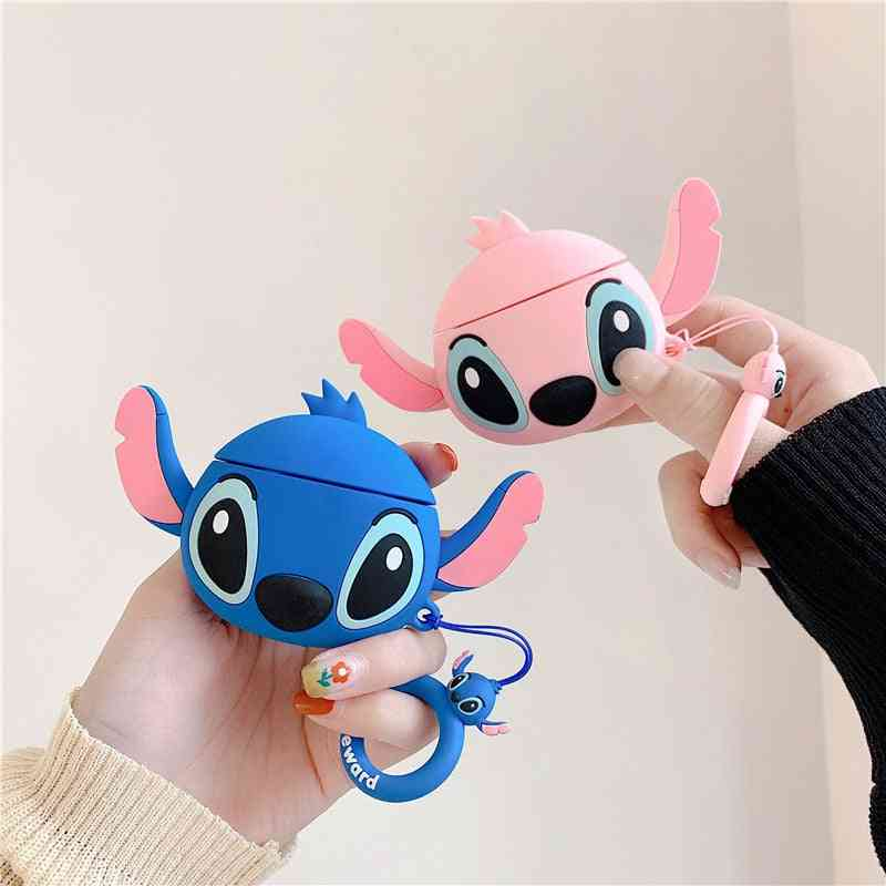 Stitch Cartoon Airpod Headset Protective Cover