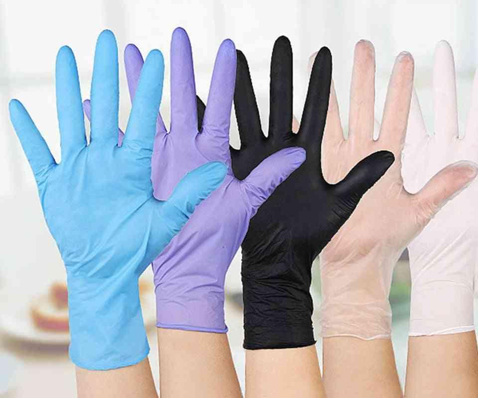 Disposable Gloves Latex Dishwashing Kitchen Work Rubber Garden Universal For Left Right Hand