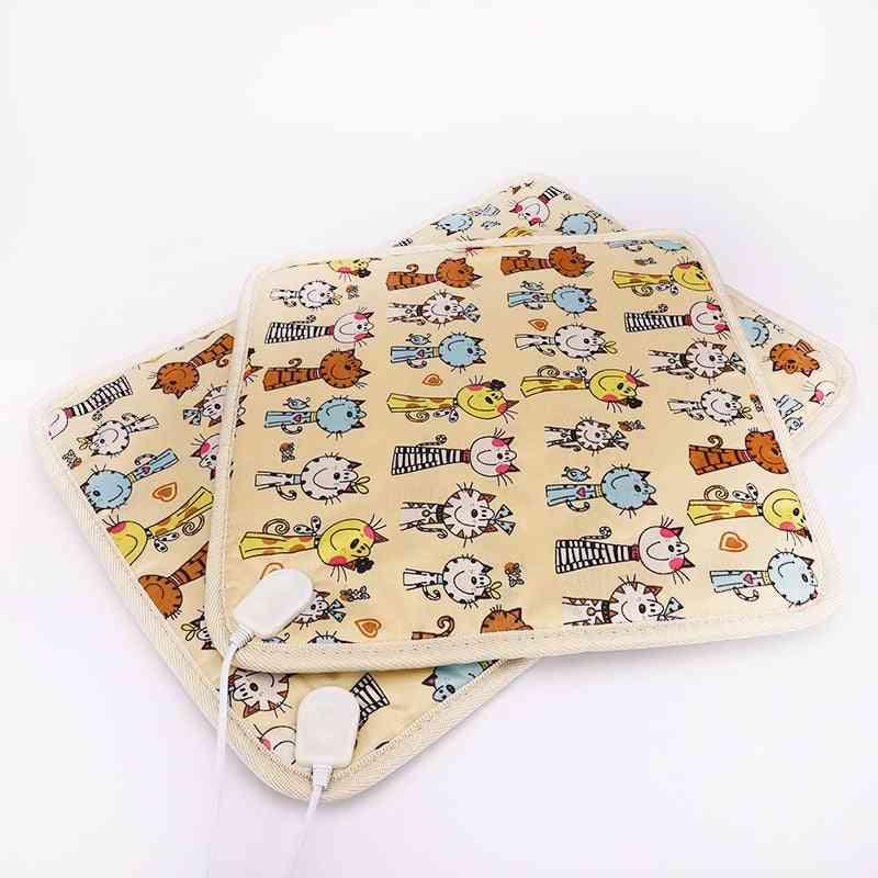 Pet Electric Heating Blanket Pad, Heater Mat, Bed, Body Winter Warmer Carpet, Pet Seat