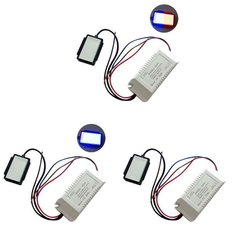 220v 300w Mirror On/off Touch Switch Anti-fog For Lamp Lighting Accessory