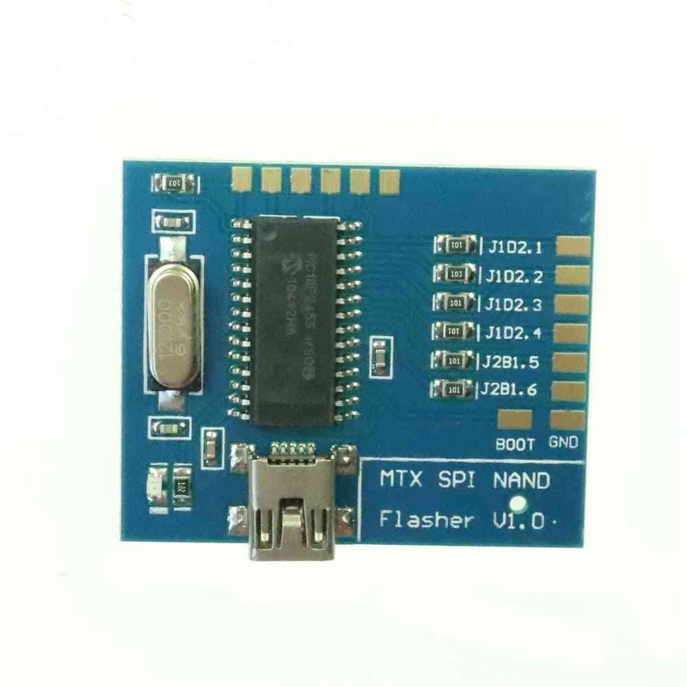Mtx Spi Nand Flasher Matrix Nand Programmer