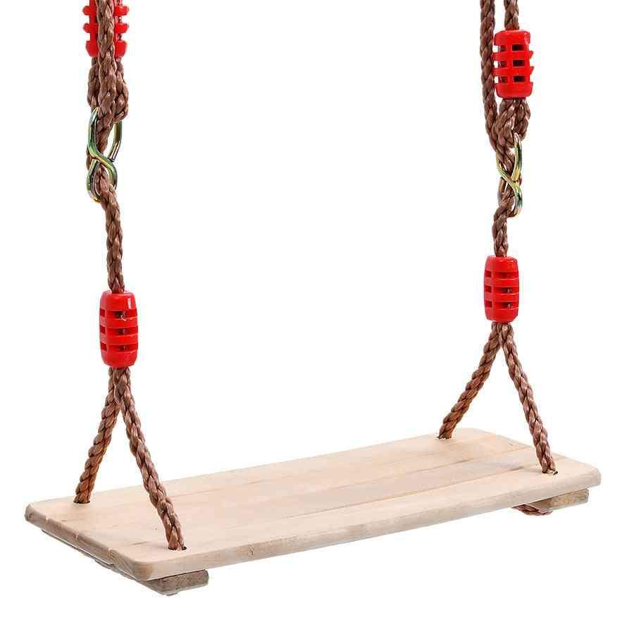 Outdoor Swing Wooden Indoor Educational Fitness Equipment For Kid Garden Comfortable Firm (swing)