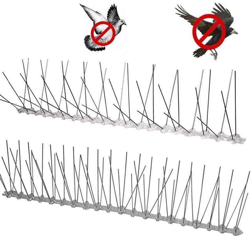 Plastic Repeller Bird Spikes Deterrent Stainless Steel Spike Strip