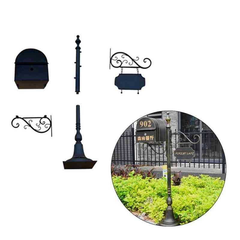 Full Sets Addresses Of Distinction Mailbox And Stand
