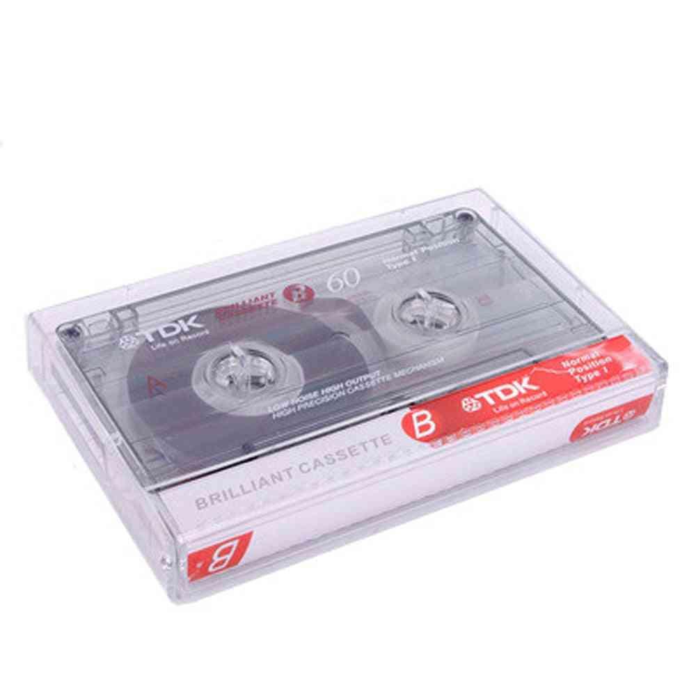 Standard Cassette Blank Tape Player Empty  Magnetic Audio Recording For Speech Music Recording Mp3  Cd/dvd