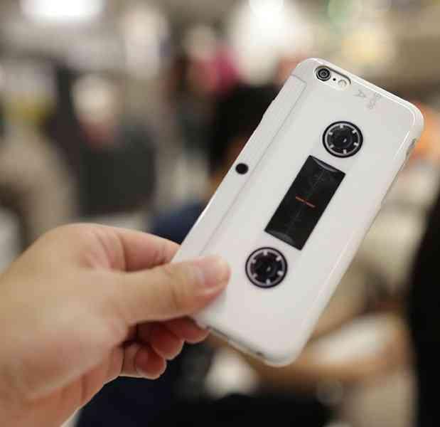 Cassette Tape Soft Case