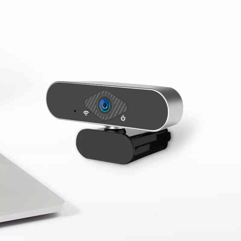 Usb Webcam, Live Broadcast Camera, Ultra Wide Angle, Auto Foucus, Multifunctional