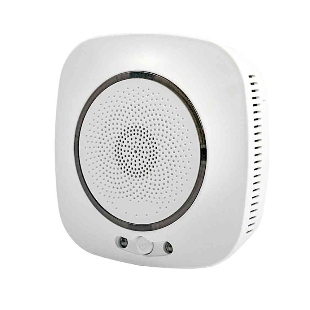 Wifi Smart Gas Leakage Fire Security Detector, Combustible Alarm Sensor, Smart Life, Tuya App Control, Home System