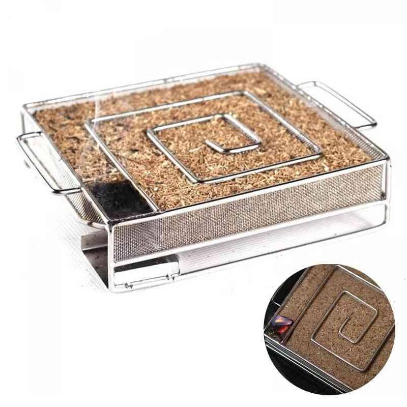 Grill Smoker Salmon Barbecue Cold Smoke Generator Box