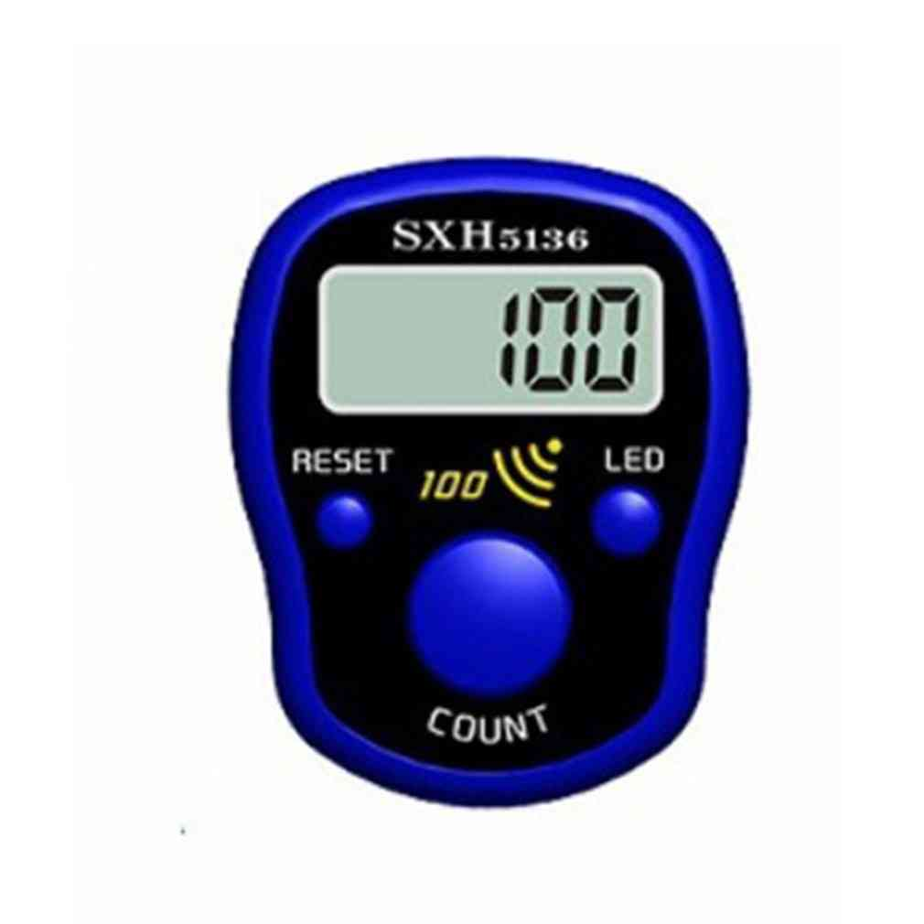 Mini Stitch Marker Row Finger Counter Lcd Display With Led Light