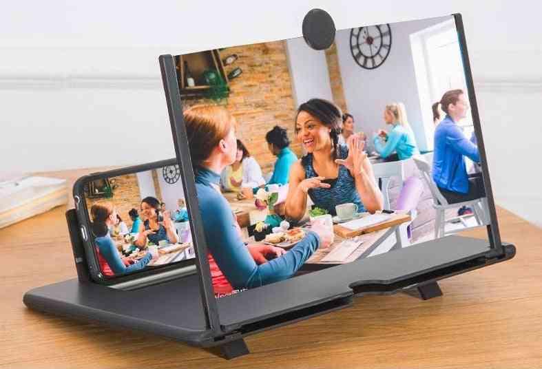 High-definition Universal 3d Mobile Phone Screen Amplifier