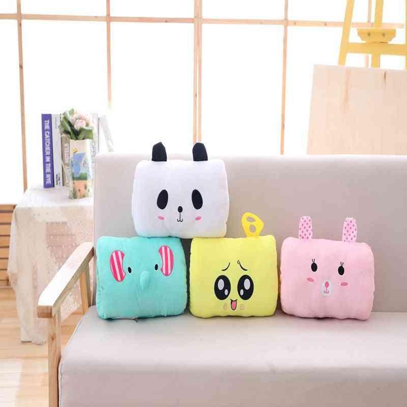 Usb Electric Heating, Cartoon Hand-warmer Pad, Plush Warm-hand Pillow