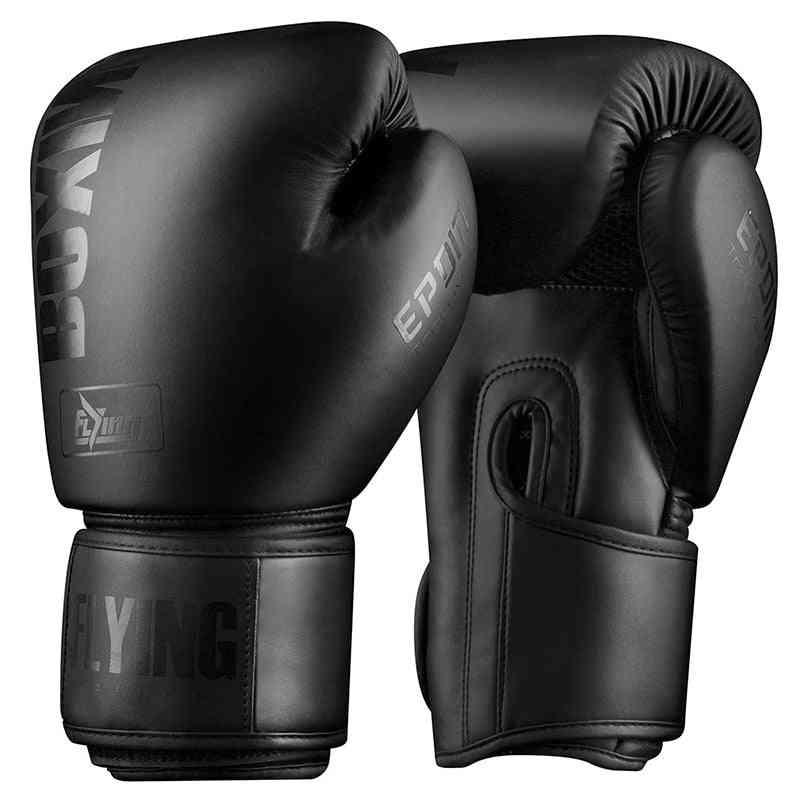 Pu Leather Muay Thai Guantes De Boxeo Free Fight Mma Sandbag Training Glove
