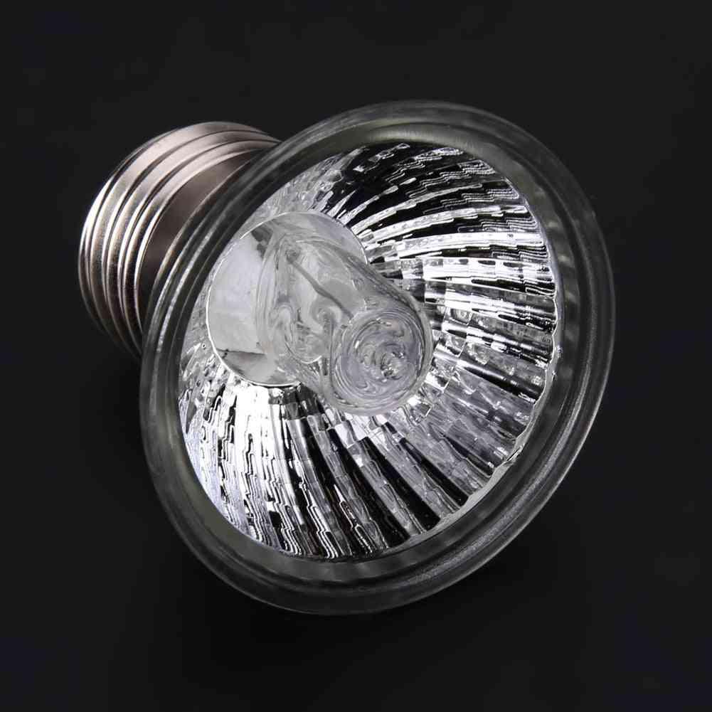 25w/50w/75w Reptile Tortoise Uva+uvb 3.0 Heating Full Spectrum Sunlamp