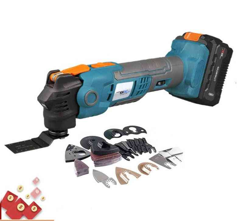 Multi-function Oscillating Tool For Wood & Metal Cutting
