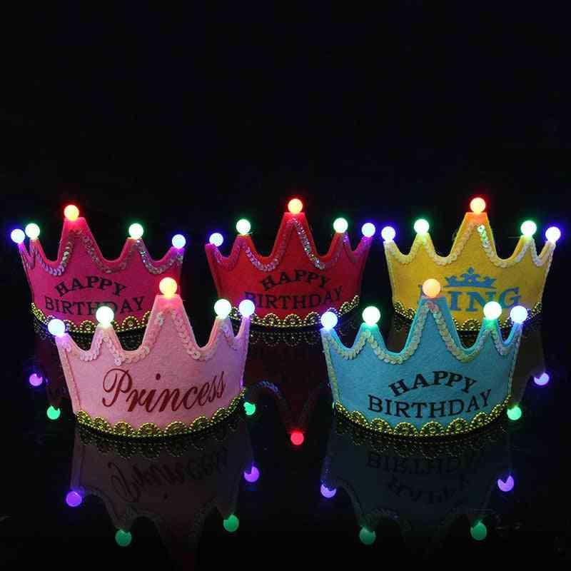 Led Light Birthday Toy Hat