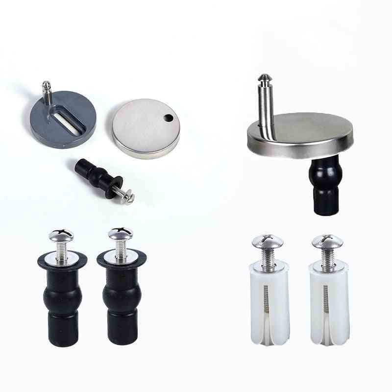 Toilet Fittings Screws Toilet Lid Cover, Connectors Bolts Accessories
