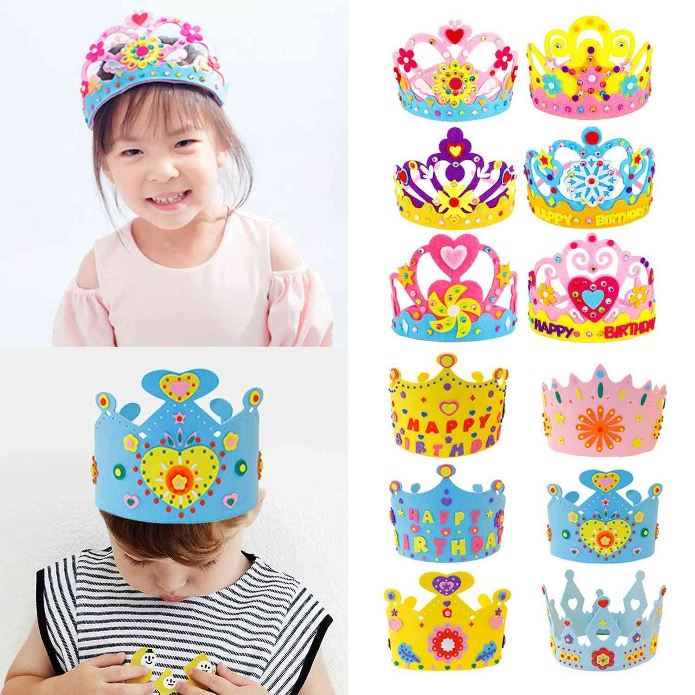 Diy Birthday Tiaras Hat