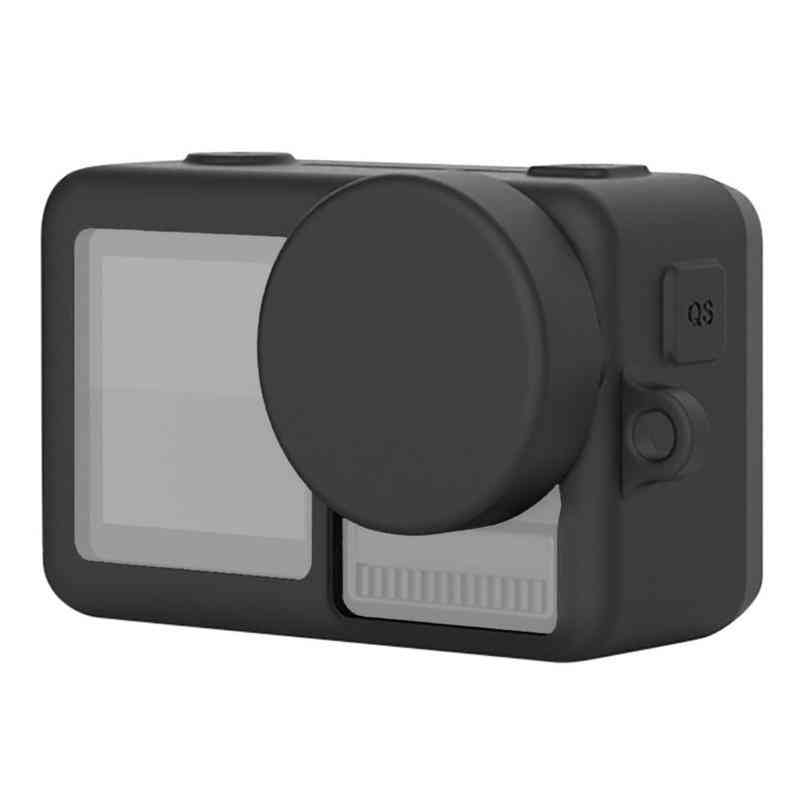 Amzer Silicone Protective Case With Lens Cover & Lanyards For Dji Osmo