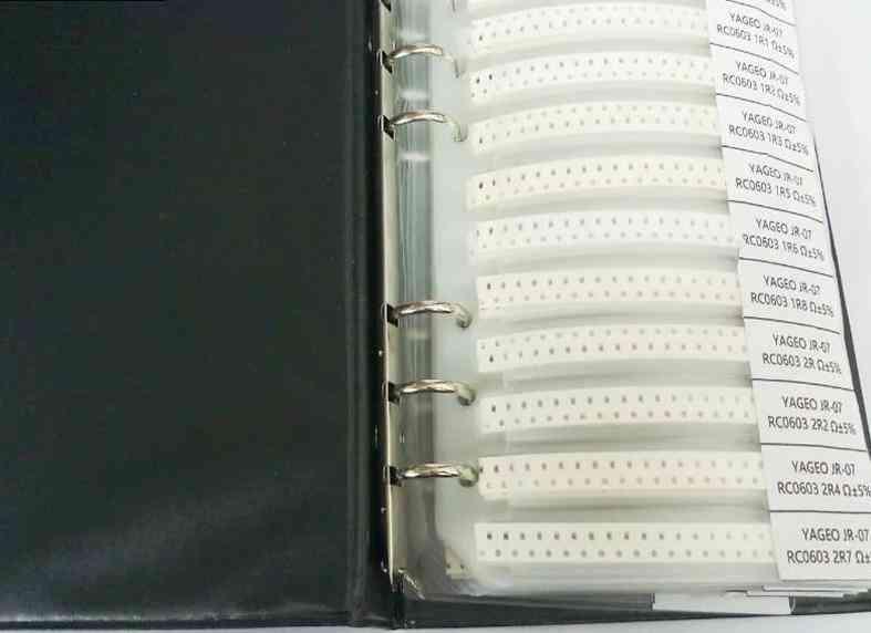 Smd Resistor Sample Book Kit