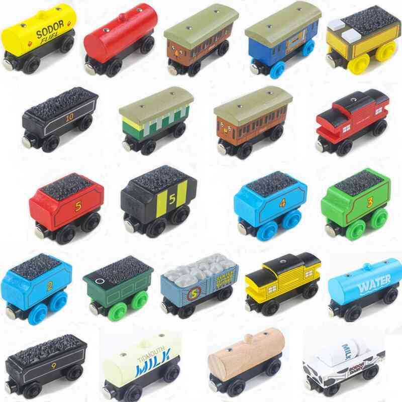 Thomas Wooden Train Magnetic Wooden Train Car Toy
