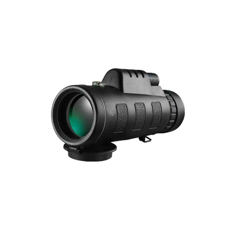 40x60 Zoom Telescope Monocular Binoculars Clear Night Vision Pocket For Camping Hunting Optical Prism Scope