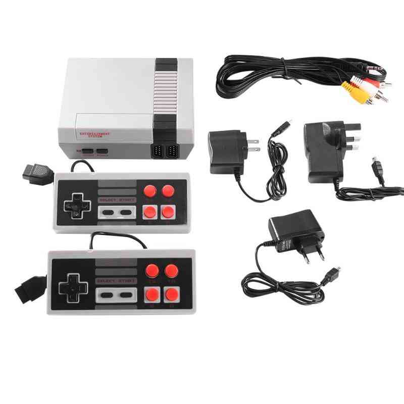 Built-in 500/620/621 Games Mini Tv Game Console 8 Bit Retro Classic Handheld Gaming Player Av/hdmi Output Video