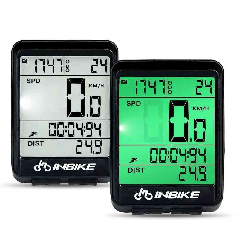 Computer Wireless And Wired Mtb Speedometer Watch