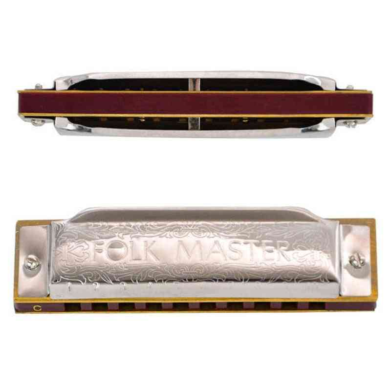 Harmonica Standard Beginner Diatonic Blues Gaita Musical Instrument