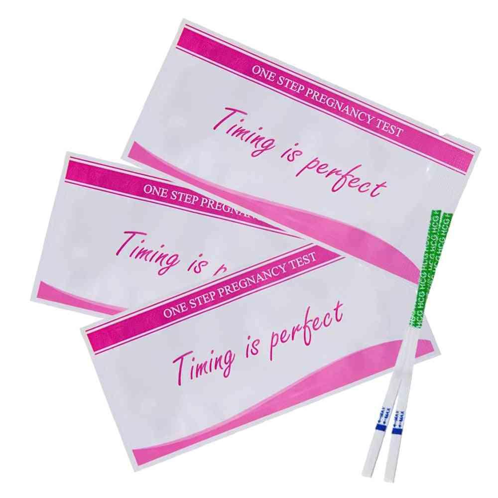 Home Female One Step Quick Test Pregnancy Strip