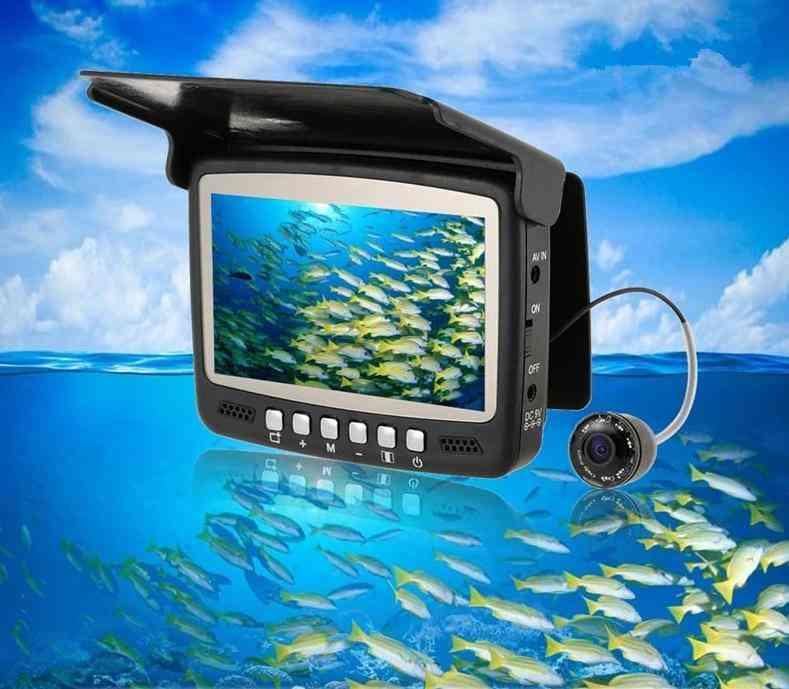 Fish Finder Underwater Ice Fishing Camera