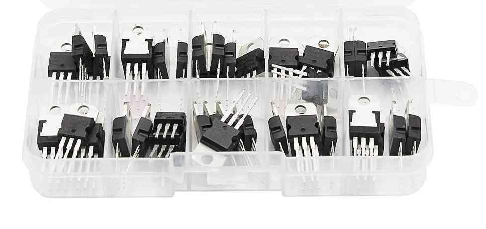 Transistor Assortment Kit Voltage Regulator Box