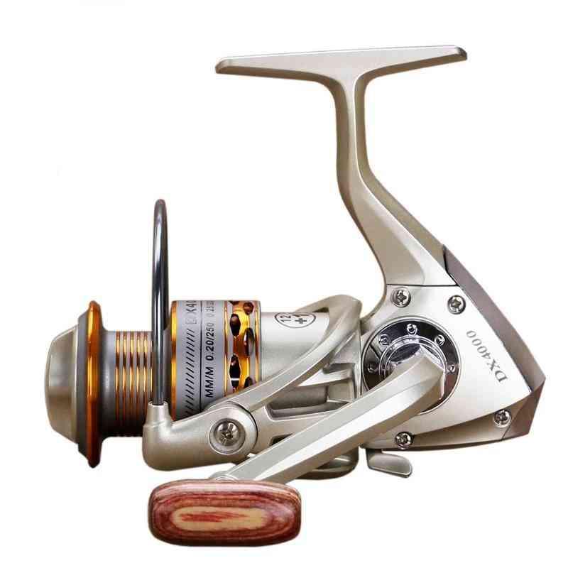 Fishing Coil Wooden Handshake Fishing Reel Wheels