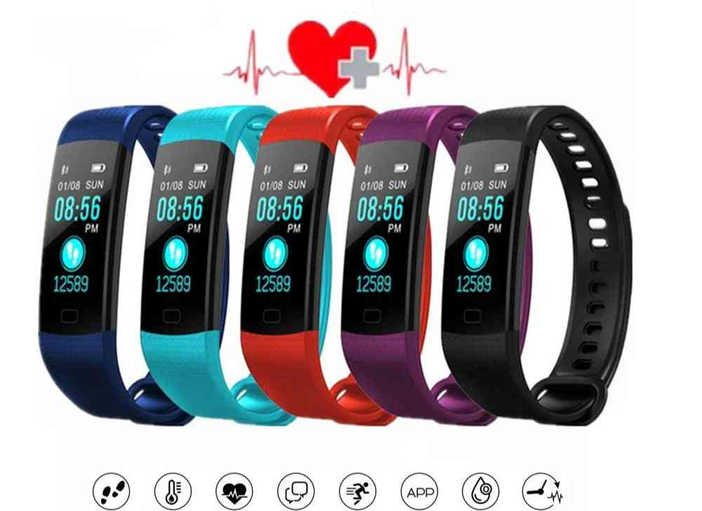 Y5 Smart Watch Sport Fitness Activity Heart Rate Tracker Blood Pressure Wristband Ip67 Waterproof Band Pedometer