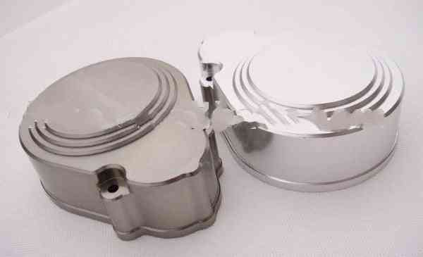 1/5 Baja Cnc Alloy Gear Cover - Silver,grey - 2 Speed Gear Cover Use For  Hpi Km Rv Baja 5b 5t 5sc