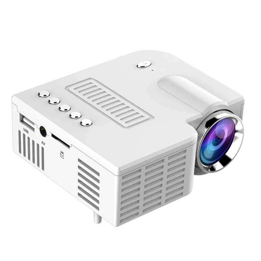 Uc28c Led Abs Usb Portable Video Projector Home Theater