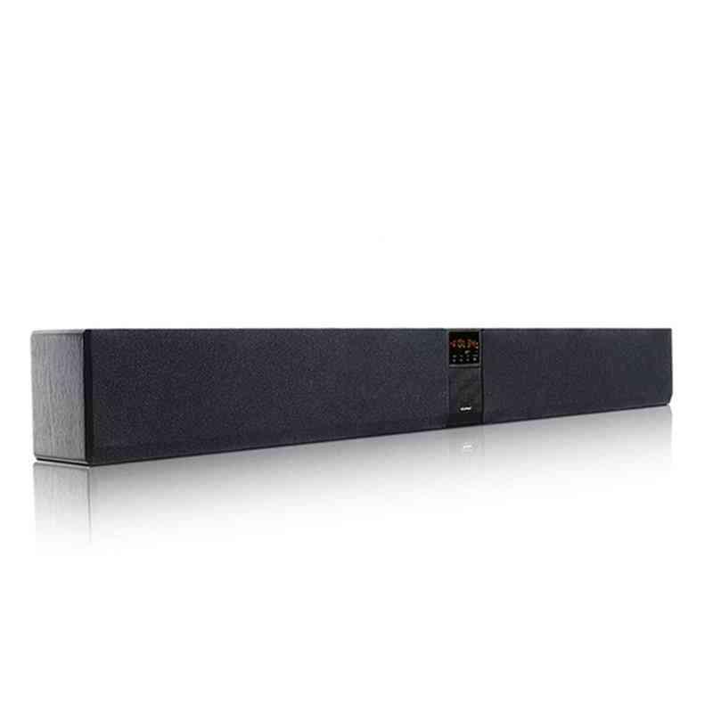Bluetooth Sound Bar Column Dual Subwoofer Speaker