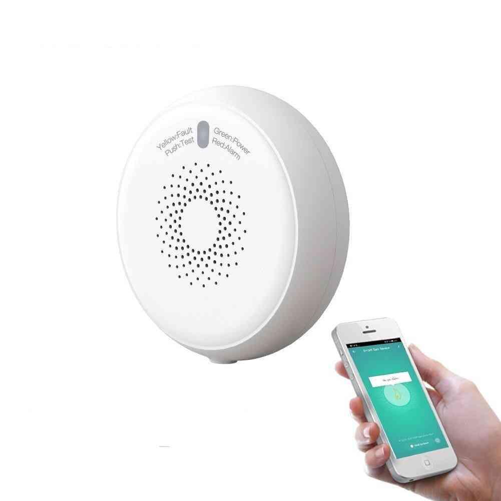 Smart Zigbee Gas Leakage Detector Combustible Sensor Tuya Smart Home Security Alarm System Life Tuya Control 2mqtt Setup