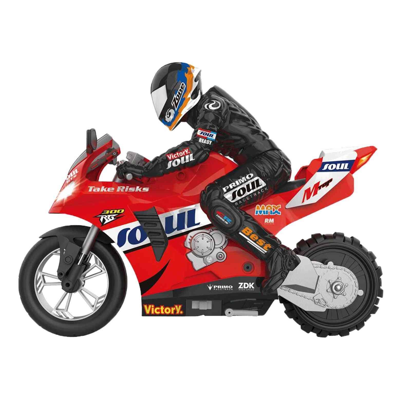 Self-balancing Rc Motorcycle Car, Remote Control Drift Boy Toy, Motorbike