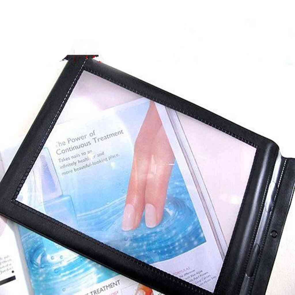 A4 Magnifier Magnifying Glass Book Reading Lens